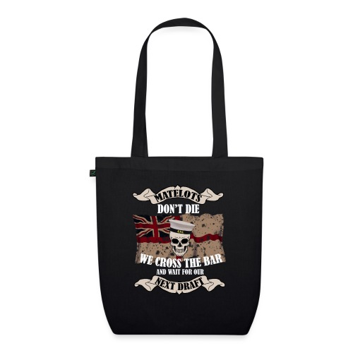 Cross the Bar - EarthPositive Tote Bag