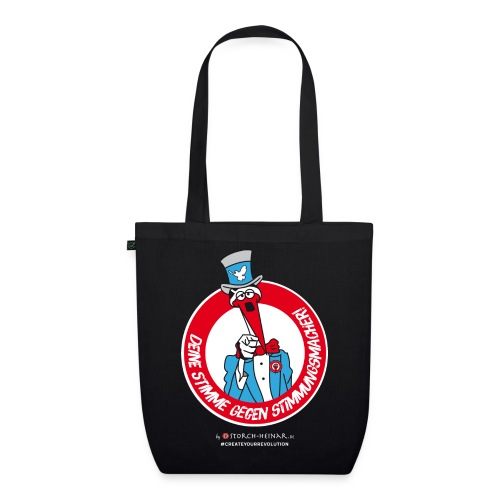 Storch Heinar - Your voice against populism - EarthPositive Tote Bag