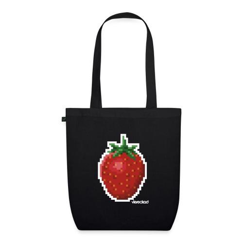 Erdbeer - Bio-Stoffbeutel