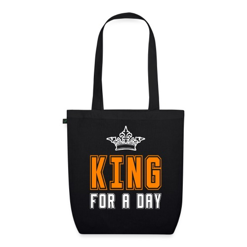 King for a day - Bio stoffen tas