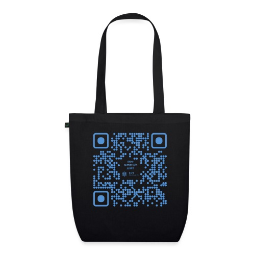 QR The New Internet Shouldn t Be Blockchain Based - EarthPositive Tote Bag
