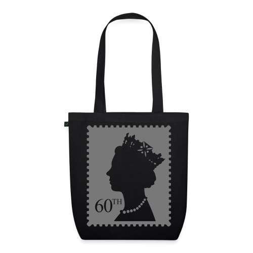 Queen's Jubilee Stamp - EarthPositive Tote Bag