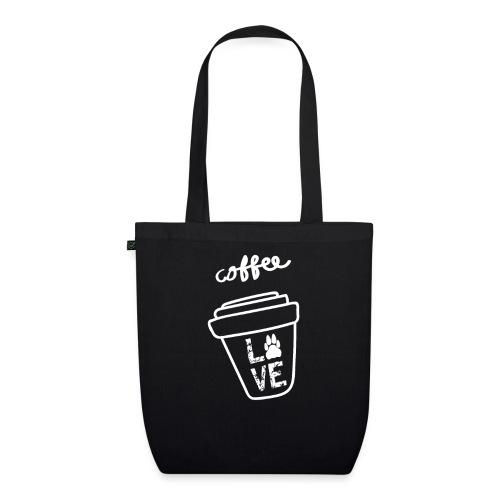 Coffee Love Kaffee Liebe - Bio-Stoffbeutel