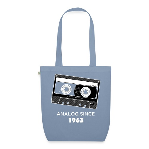 Analog since 1963 - EarthPositive Tote Bag