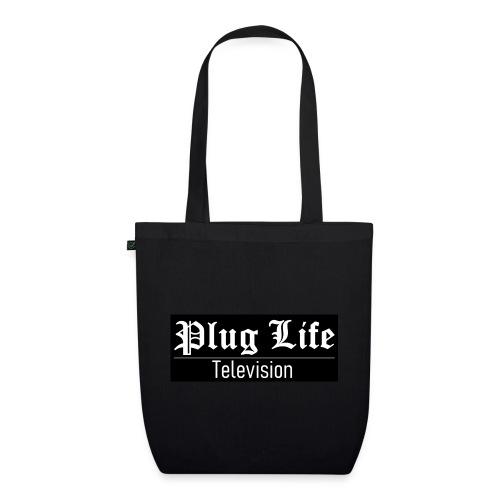 Plug Life Television Logo - EarthPositive Tote Bag