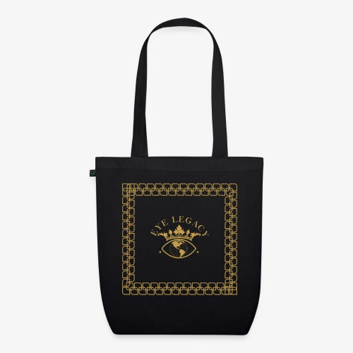 EYE LEGACY (Gold) - EarthPositive Tote Bag