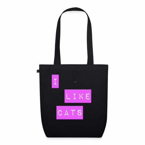 I like cats - EarthPositive Tote Bag