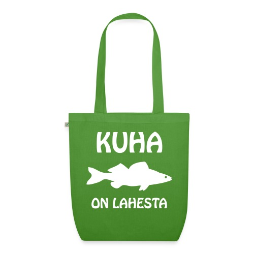 KUHA ON LAHESTA - Luomu-kangaskassi