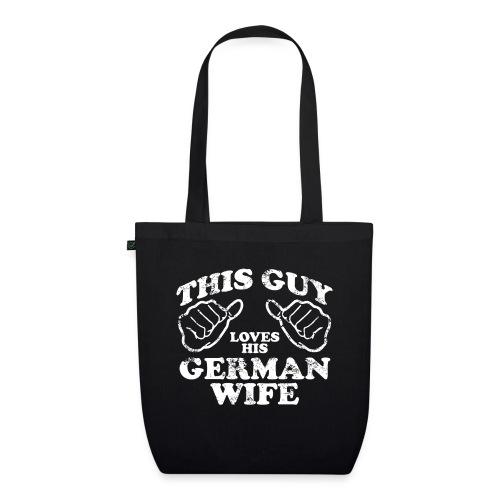 This Guy loves his german wife - Ekologiczna torba materiałowa