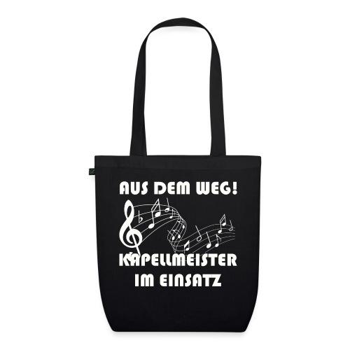 Lustiger Kapellmeister Spruch Shirt Geschenk - Bio-Stoffbeutel