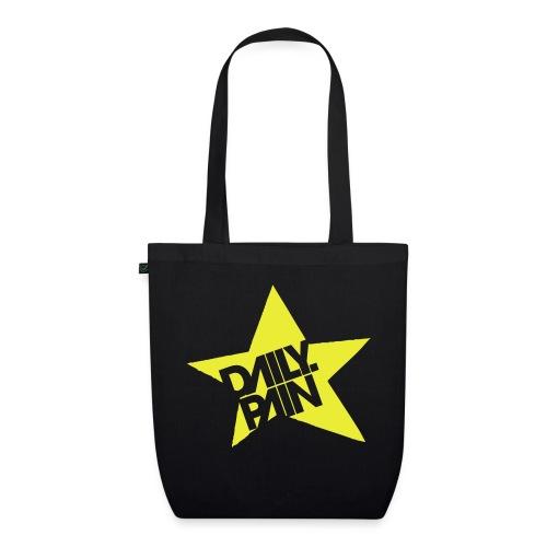 daily pain star - Ekologiczna torba materiałowa