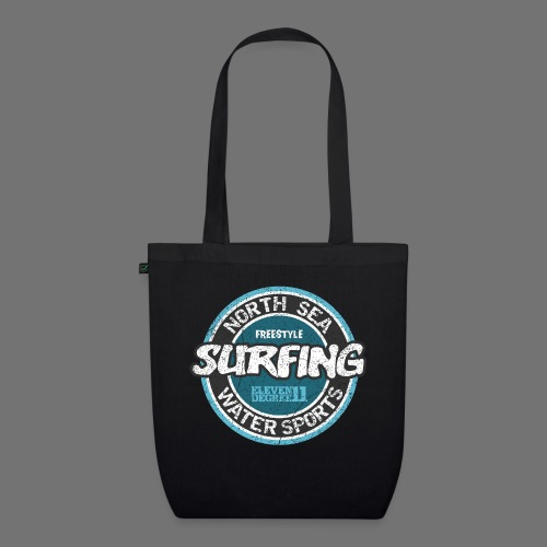 North Sea Surfing (oldstyle) - EarthPositive Tote Bag