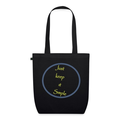 Keep it simple - EarthPositive Tote Bag