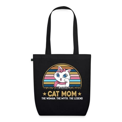 CAT MOM - Sac en tissu biologique