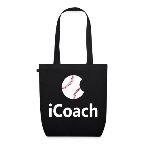 Baseball Logo iCoach - EarthPositive Tote Bag