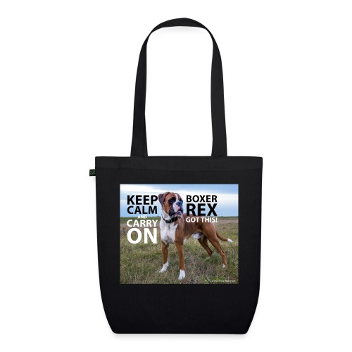 Keep calm and carry on - EarthPositive Tote Bag