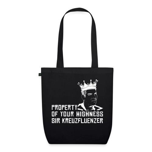 Property of your Highness WHITE - Bio-Stoffbeutel