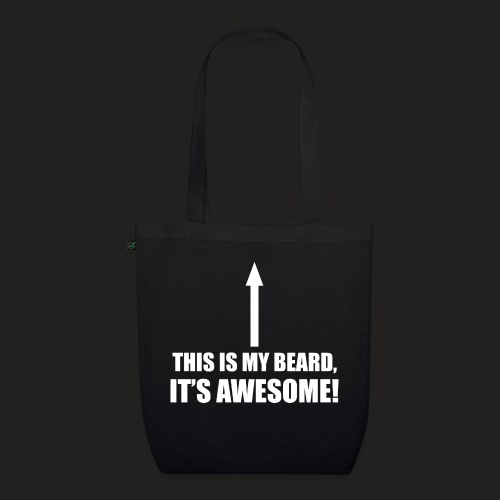 MY BEARD.png - EarthPositive Tote Bag