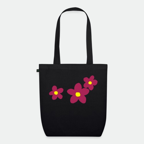 Three Flowers - EarthPositive Tote Bag