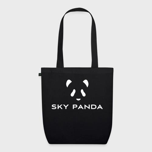 Sky Panda White - Bio-Stoffbeutel