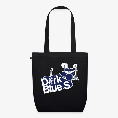DarkBlueS outline gif - EarthPositive Tote Bag