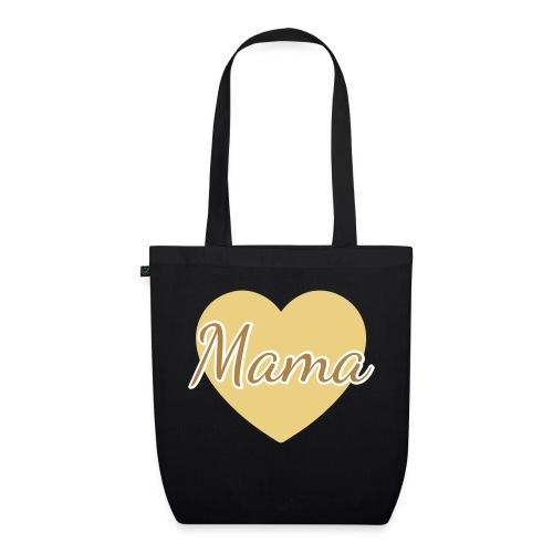mama herz 01 - Bio-Stoffbeutel