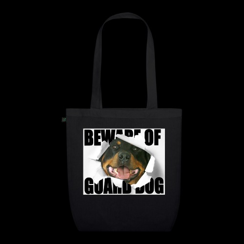 beware of guard dog - EarthPositive Tote Bag