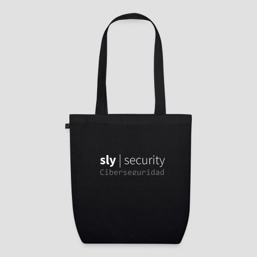 Sly Security   Ciberseguridad - Bolsa de tela ecológica