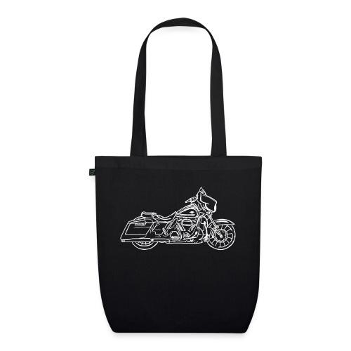 Motorcycle Streetglide - Sac en tissu biologique