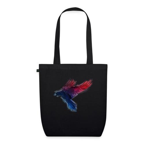 Watercolor Raven - Bio-Stoffbeutel