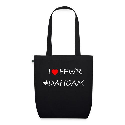 I ❤️ FFWR #DAHOAM - Bio-Stoffbeutel
