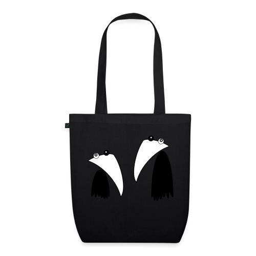 Raving Ravens - black and white 1 - Sac en tissu biologique