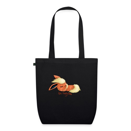 eevee - flareon - the sleppy one - EarthPositive Tote Bag