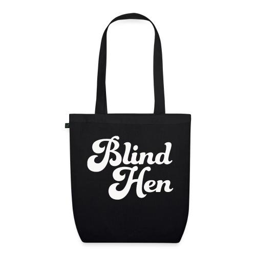 Blind Hen - Logo T-shirt premium, black - EarthPositive Tote Bag