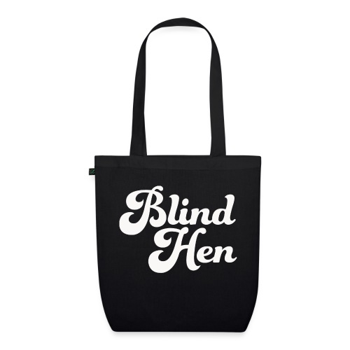 Blind Hen - Logo Lady fit premium, black - EarthPositive Tote Bag