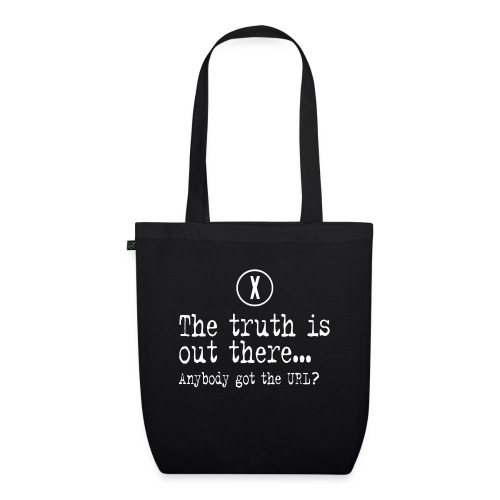 TheTruthIsOutThere - Bio stoffen tas