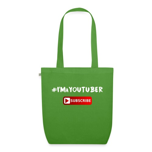 I'm a Youtuber : Subscribe - Borsa ecologica in tessuto