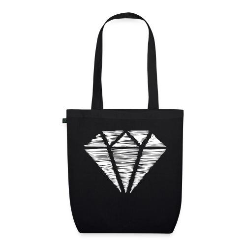 Diamante blanco - Bolsa de tela ecológica
