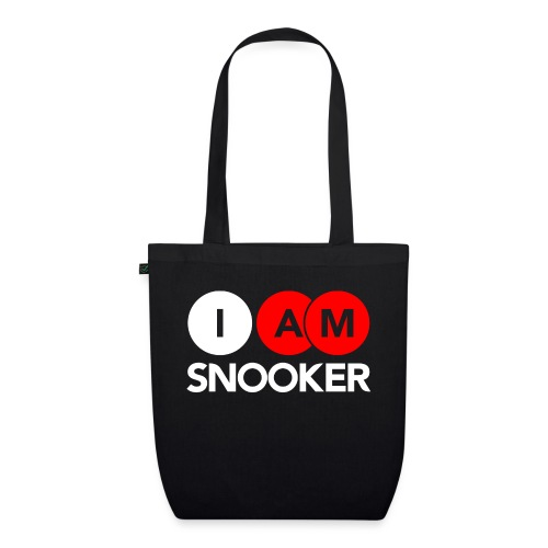 I AM SNOOKER - EarthPositive Tote Bag