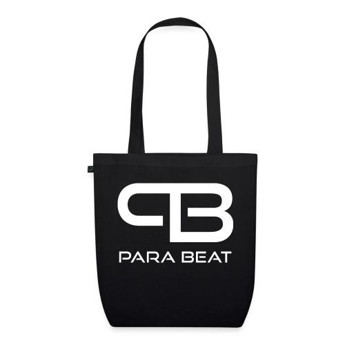 ParaBeat Logo Weiß - Bio-Stoffbeutel