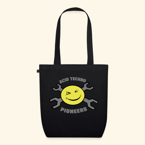 ACID TECHNO PIONEERS - SILVER EDITION - EarthPositive Tote Bag