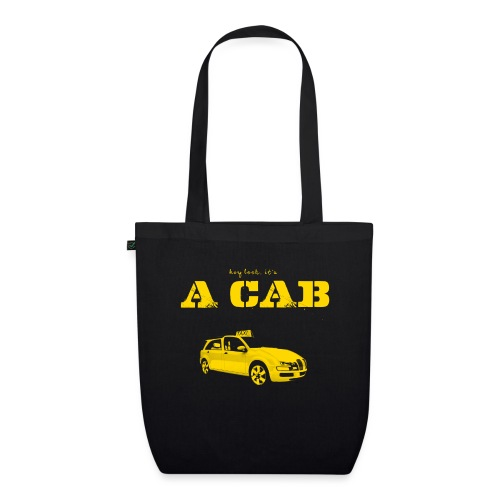 Hey Look It's A CAB - Bio-Stoffbeutel