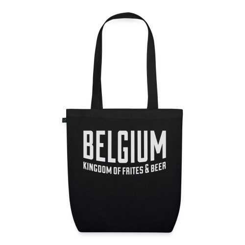 Belgium kingdom of frites & beer - Sac en tissu biologique