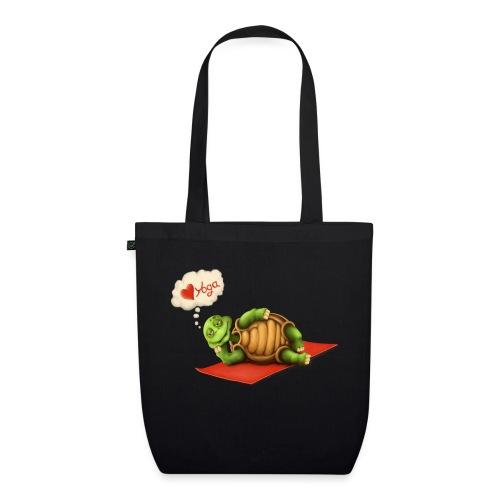 Love-Yoga Turtle - Bio-Stoffbeutel