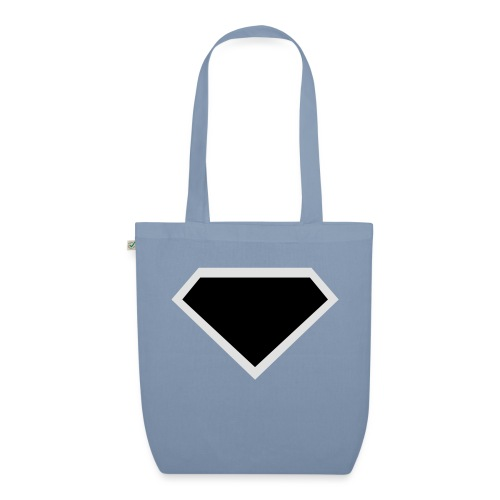 Diamond Black - Two colors customizable - Bio stoffen tas