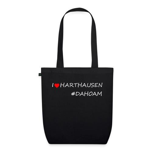 I ❤️ HARTHAUSEN #DAHOAM - Bio-Stoffbeutel
