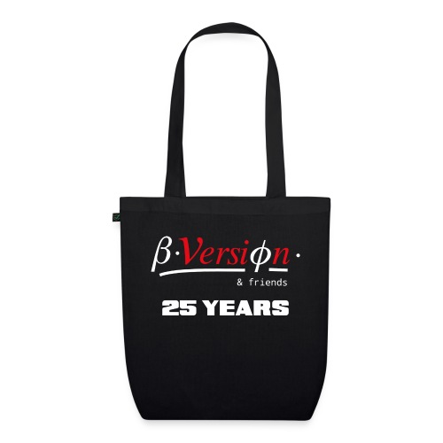Beta- Version & Friends 25 Years - Bio-Stoffbeutel