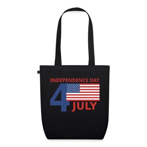4 luglio giorno della indipendenza - Borsa ecologica in tessuto