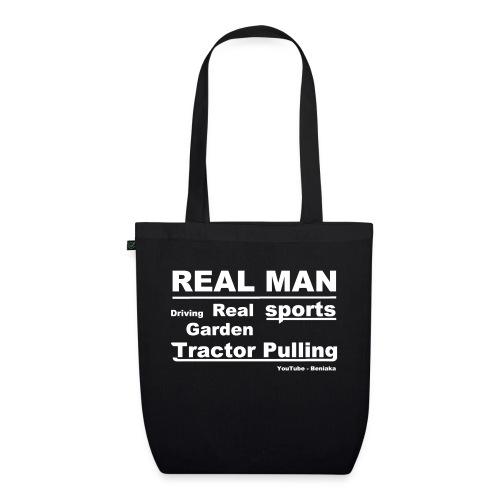 Real man - Øko-stoftaske