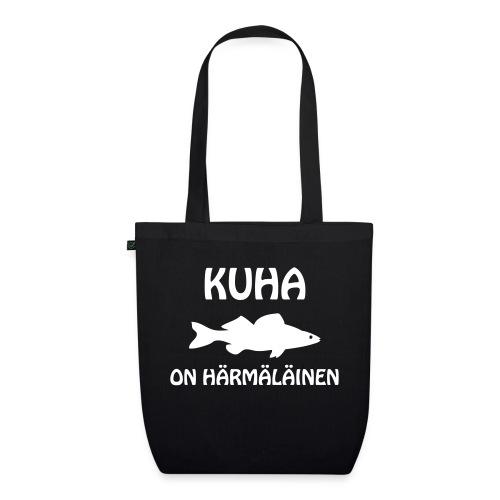 KUHA ON HÄRMÄLÄINEN - Luomu-kangaskassi
